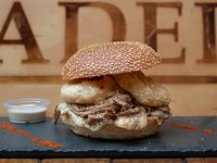 Sandwich de mechada madero