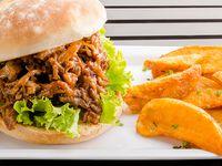 Sándwich de Pulled Pork