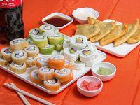 Promo - Kimo`s  (45 piezas vip) + bebida 1.5 L