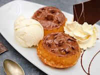 Mini Waffle de Nutella