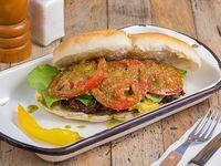 Sándwich croquetón de quínoa