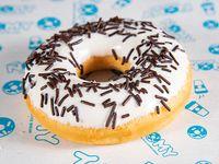 Ñomy donut rosquilla choco blanco