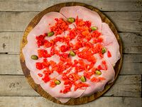 Pizza súper con morrón