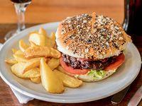 Sándwich hamburguesa full