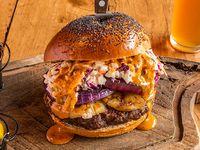 Lumberjack's burger