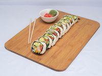 Roll de calamar apanado sin arroz (10 piezas)