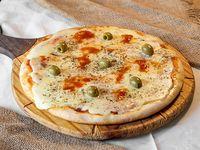Pizza con Muzzarella 8 porciones