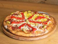 Pizza con cantimpalo
