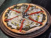 Pizza con verdura especial