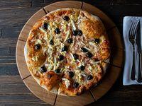 Pizza  familiar portuguesa