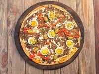 Pizza de ternera