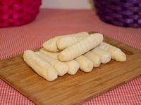 Deditos de queso congelados con salsa de ajo (10 unidades)