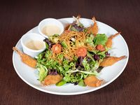 Honey shrimp salad