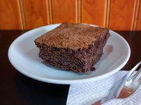 Brownie de garbanzo vegano