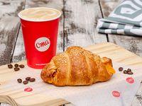Croissant Jamón y Queso + Latte 260ml