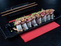 Tuna Dragon roll