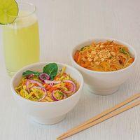 Combo Tallarines Japoneses + Ceviche Mango