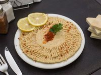 Hummus pasta de garbanzos natural sin tac