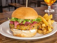 Moe green burger