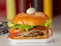 Hamburguesa de Carne con Tocineta