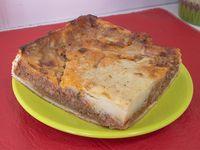 Tarta de pastel de papa (porción)