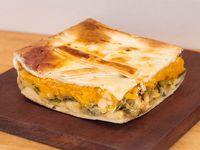 Tarta de zapallito y calabaza (porción)