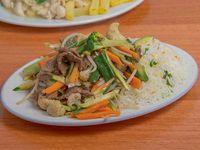 Colación - Chapsui de carne + Acompañamiento