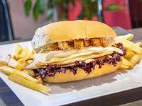 Combos - Pollo ave César + papas fritas rústicas