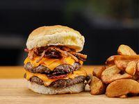 #1 Crispy Bear Burger