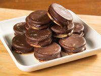 Bandeja de galletas artesanales de chocolate (12 unidades)