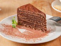 Torta panqueque de chocolate (porción)