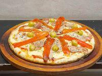 Pizza pig jamón y morrón