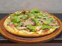 Pizza pig jamón crudo y rúcula