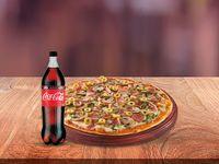 Combo Pizza Extragrande + Gaseosa 1.5 L