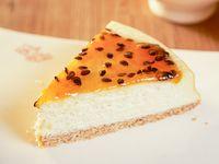 Cheesecake de maracuyá (porción)