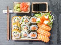 Combinado salmón - 15 piezas