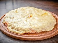Pizza con queso doble