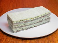 3 sándwiches de Ternera y Roquefort