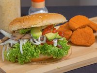 Chile burger