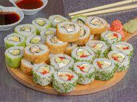 Promo – Bacok Burger & Sushi  (30 piezas vegetarianas)