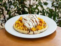 Waffle Frutos Amarillos