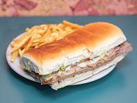 Sándwich de lomo El Bosque