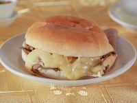 Promo menú premium 11 - Sándwich barros luco + bebida 350 ml