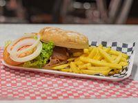 Megaburger Sencilla