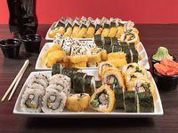 Combo 15 - 90 piezas de sushi a elección + bebida 1.5 L