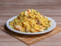 54b - Chao fan mixto con salsa curry