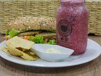 Combo Sandwich con Proteína de Quinua