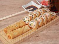 Promo Furai - Furai roll + 2 arrollados primavera + bebida 220 ml