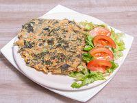 Promoción - Tortilla de verduras + 1/2 Ensalada