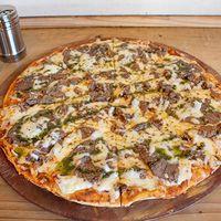 Pizza mechada luco